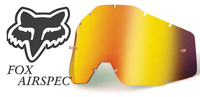 Goggle Shop MX Motocross lens for Fox: Airspec - Mirror Fire