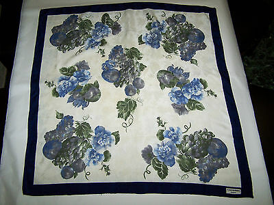 """Foulard """"Furstenberg Couture"""" Vtg 90 100% Silk Scarf Made In Italy"""