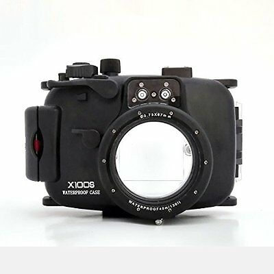 UK Store! CameraPlus® 40M Waterproof Diving Housing Case for Fujifilm X100S