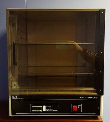 Quincy Lab 10-140AE Steel/Aluminum/Acrylic Door Digital Forced Air Incubator