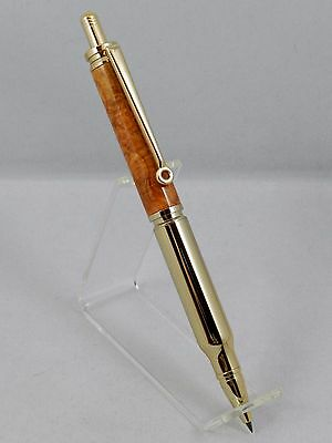 Handmade 30 Caliber 2MM Pencil. Made with Stunning Afzelia. A great gift! #4