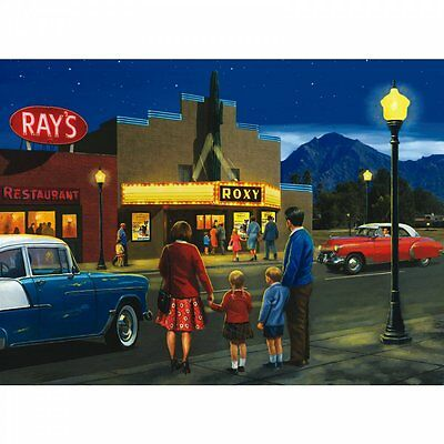 Royal & Langnickel A Night at the Movies - Large Paint By Numbers