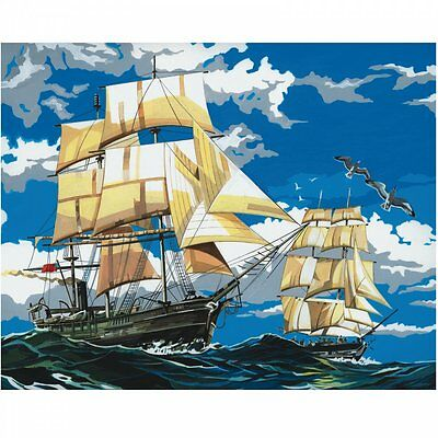 Royal & Langnickel Sailing Ships Painting By Number Artist Canvas Series