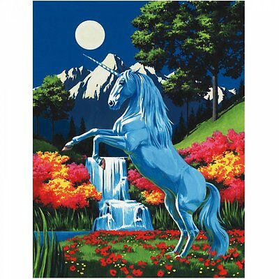 Royal & Langnickel Unicorn Painting By Number Artist Canvas series