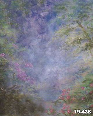 Spring Scenic 10'x20' Muslin Hand-Painted Photo Backdrop Background 19-438