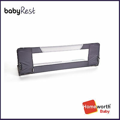 NEW  AR140/G  140cm wide Bed Safety Rail GREY crib baby bed cot sleep