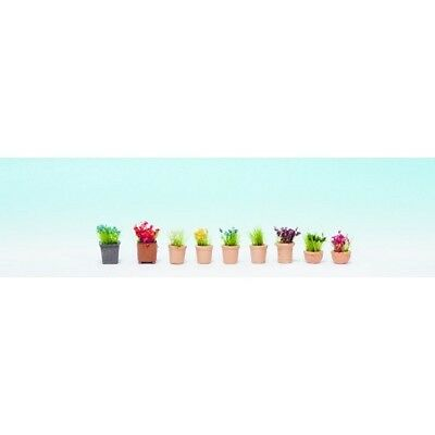 NOCH 14064 TT 1:120 Flowers in Flowerpots new original packaging