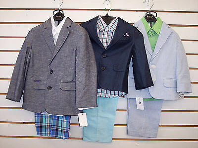 Toddler & Boys Assorted 3pc Suits Size 2T - 7