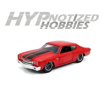 Jada 1:32 Fast & Furious Doms Red 1970 Chevrolet Chevelle Ss 97380