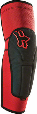 Fox 2016 Launch Enduro Mtb Elbow Guards Pads- Red