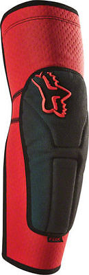Fox 2018 Launch Enduro Mtb Elbow Guards Pads- Red