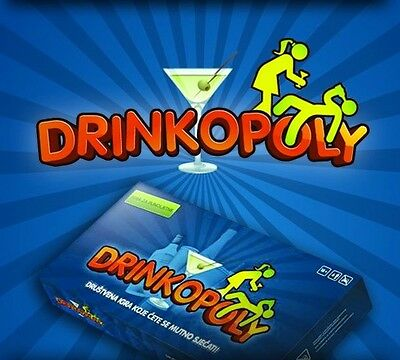 Drinkopoly - the world's best-selling drinking game