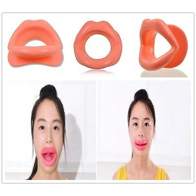 HOT Silicone Rubber Face Slimmer Mouth Muscle Tightener Anti-aging Anti-wrinkle