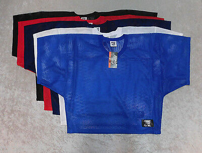BIKE Athletic Adult L/XL Mesh Practice Football Jersey 5 Colors NWT