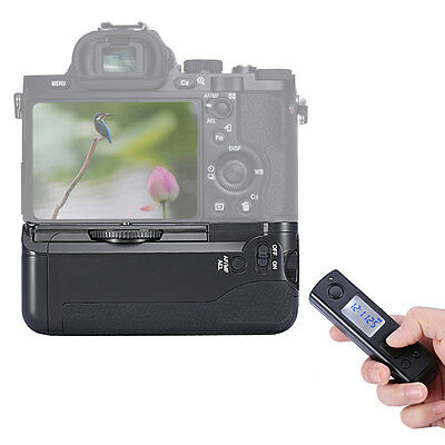 NEEWER Vertical 2.4GHz Wireless Control Battery Grip for Sony A7 A7r A7s USA