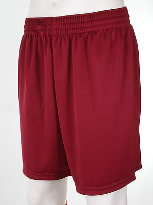 Mens Teamwear Football Shorts 7 Colours in 3 Sizes. Top Quality Long Leg Fit