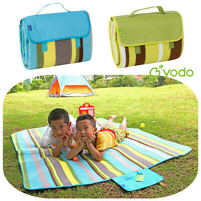 Yodo Picnic Rug 175x135 Blanket Tote Outdoor Mat Large Pad Camping Beach Garden