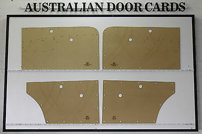 Holden FC Sedan, Wagon Door Cards / Trim Panels. Supports Special Chrome Strip