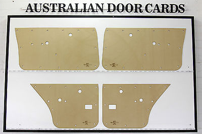 Holden TORANA LH, LX, UC. SL SLR 5000. 4-door Sedan Door Cards. Quality Masonite
