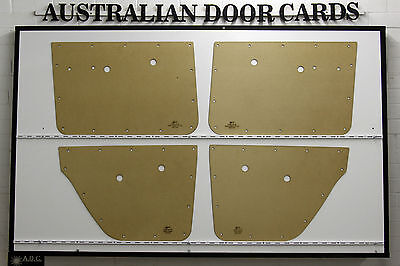 Holden HD, HR. Door Cards/ Trim Panels. Sedan, Wagon. Quality Masonite