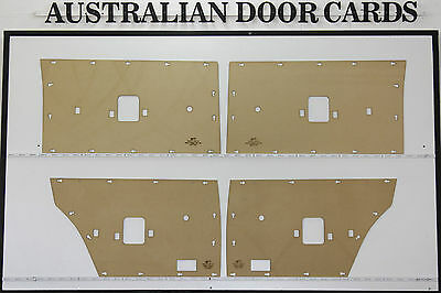 NEW Ford DOOR CARDS Suit XT, XW, XY, ZB, ZC, ZD. Sedan, Wagon. Blank Trim Panels