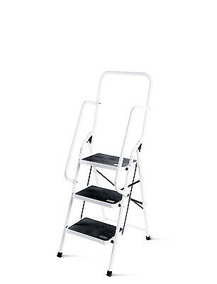 3 Step Safety Ladder with Handles