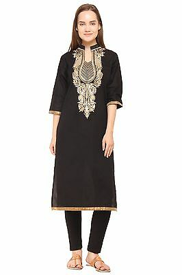 Indian Bollywood Kurta Kurti Designer Women Ethnic Dress Top Tunic Stylish Tops