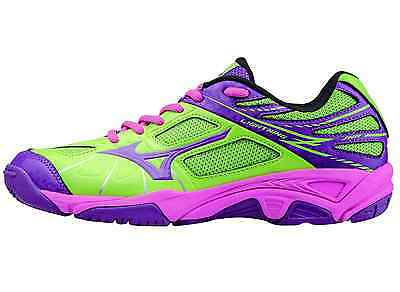 MIZUNO LIGHTNING STAR Z NEUF 60€ Handball chaussures indoor wave stealth storm