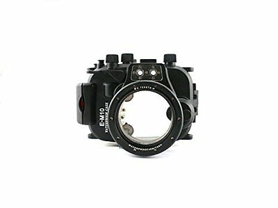 UK!CameraPlus® 40M Waterproof Diving Housing for Olympus E-M10 with 14-42mm Lens