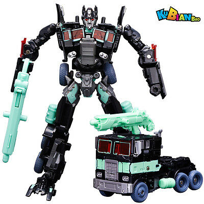 New Transformers Human Alliance Optimus Prime Black Action Figures New in Box