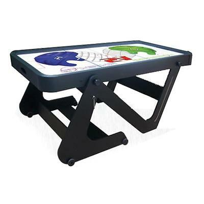 DELUXE 6 FOOT AIR HOCKEY TABLE 2x PADDLES & PUCKS ELECTRIC OUTDOOR INDOOR GAME