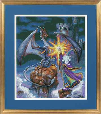 Magnificent Wizard - Magical Counted Cross Stitch Kit - Gold Collection Kit
