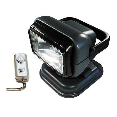Golight Portable Searchlight Spotlight with Wired Remote Control - Grey