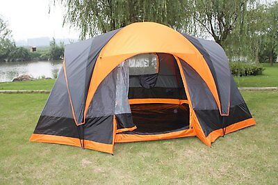 Elite Double layer Outdoor 8 Person Camping Cabin Family Tent