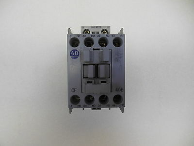 Allen Bradley 700-CF400ZJ, 20 Amp Contactor w/ 4 N.O. Contacts and 24 VDC Coil