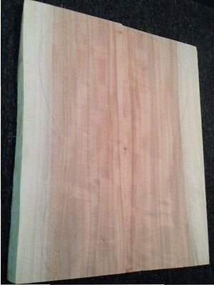 Guitar/Bass Body Blank – QLD Maple Joined – #QM42