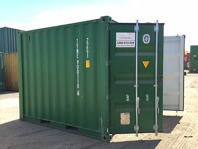 10ft New Build Shipping Containers ex Sydney