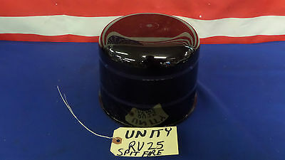 NOS Unity 1245 Clear Dome RV25 Reproduced Red Spitfire