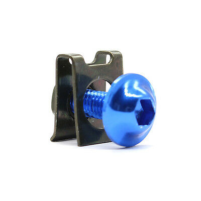 ONE Fairing Bolts Clips Spring Nuts blue