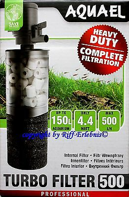 AquaEL Turbofilter 500 Schnellfilter  Aqua EL Turbo Filter