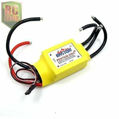 Mystery RC 200A Brushless ESC W/Water Cooling for Boat Speed Controller