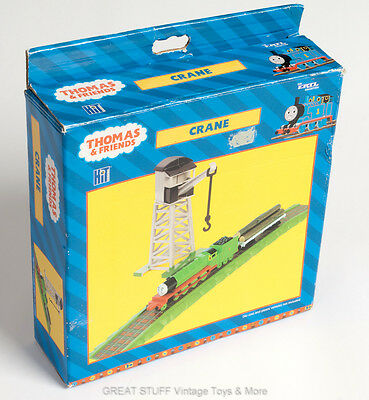 ERTL Crane and Track THOMAS the TANK ENGINE Set Vintage BNIP BNIB
