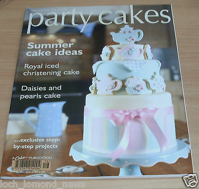 Cake Craft Guide magazine #16 Party Cakes; Royal Iced Christening, Daisies&Pearl