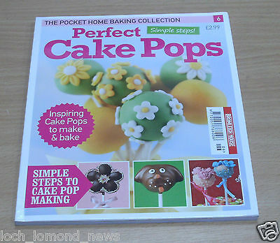 The Pocket Home Baking Collection magazine #6 Perfect Cake Pops; Simple Steps