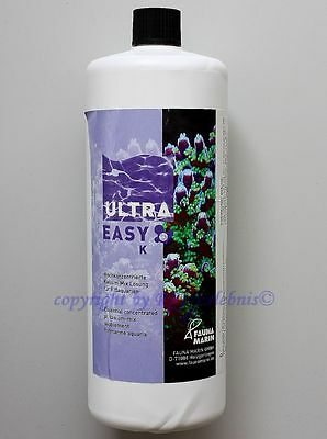 Ultra Easy K  Fauna Marin 1000ml  Kalium Mix für Meerwasser 19,95€/L