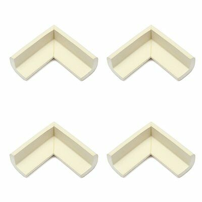 4pcs Baby Safety Table Edge Cover Corner Protector Cushion white BF