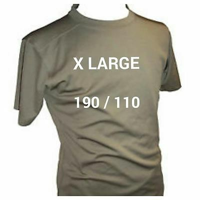 British Army Coolmax T-Shirts- Mtp - Self Wicking - Used -  X Large 190 / 110