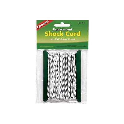 """Coghlan's Replacement Shock Cord Repair Kit for Tent Poles 3/32""""x18' Bungee Cord"""