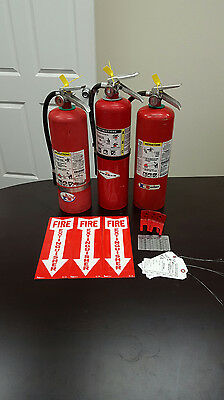 Fire Extinguisher 10lb ABC Includes Certification Tag (3) SCRATCH & DENT