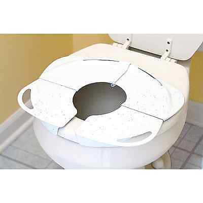 Toddler Kid Portable Folding Travel Potty Training Toilet Seat Handles New .